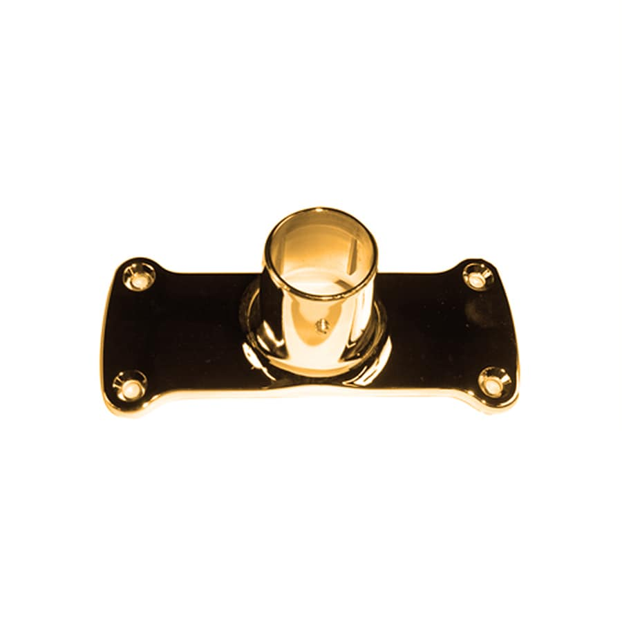 Barclay Polished Brass Zinc Flanges