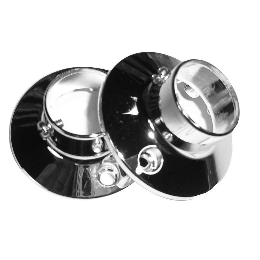 Barclay Polished Chrome Zinc Flanges
