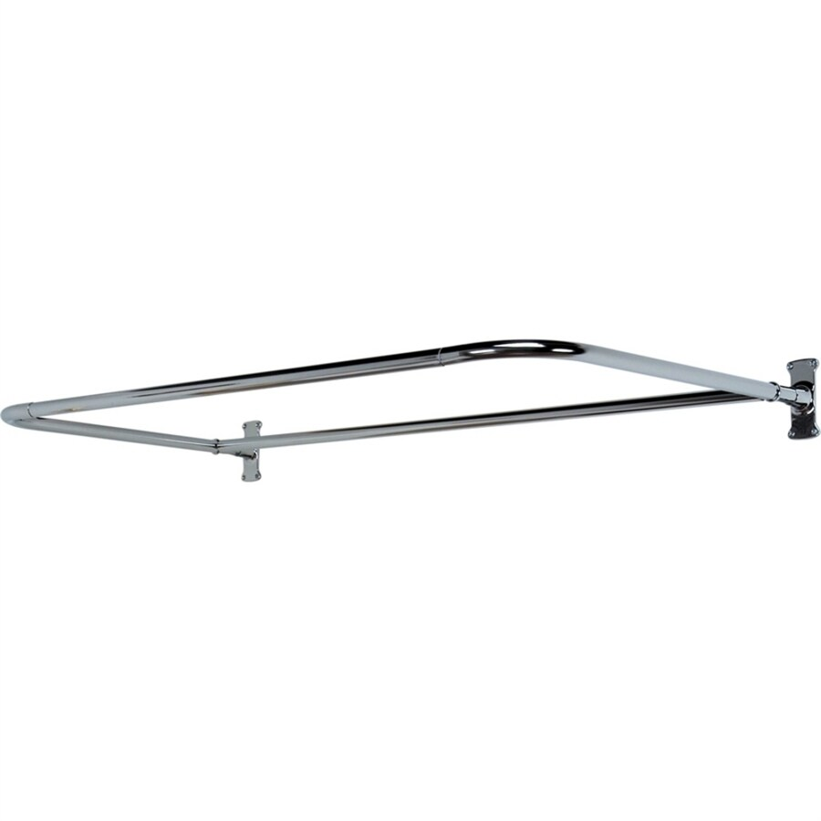 Barclay 60-in Polished Chrome Enclosure Fixed Shower Rod