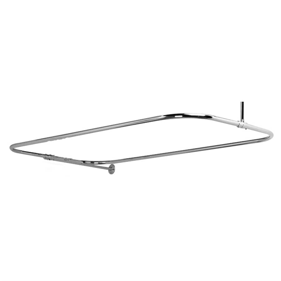 Barclay 48-in Polished Chrome Enclosure Fixed Shower Rod
