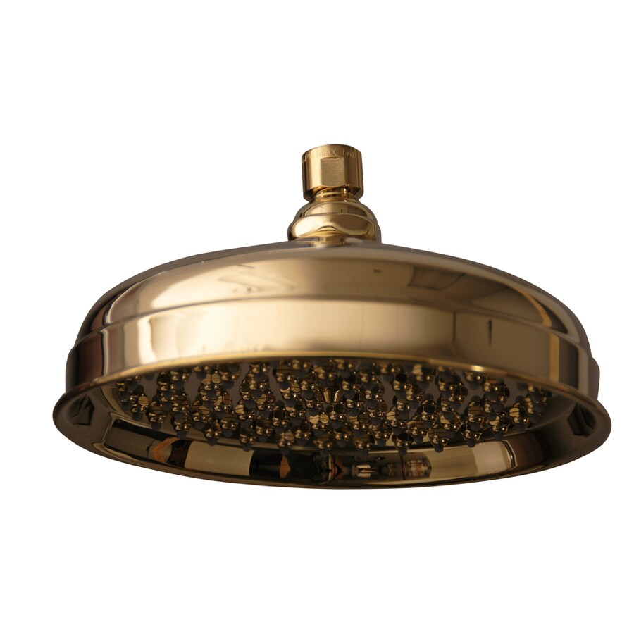 Barclay Polished Brass 1-Spray Shower Head