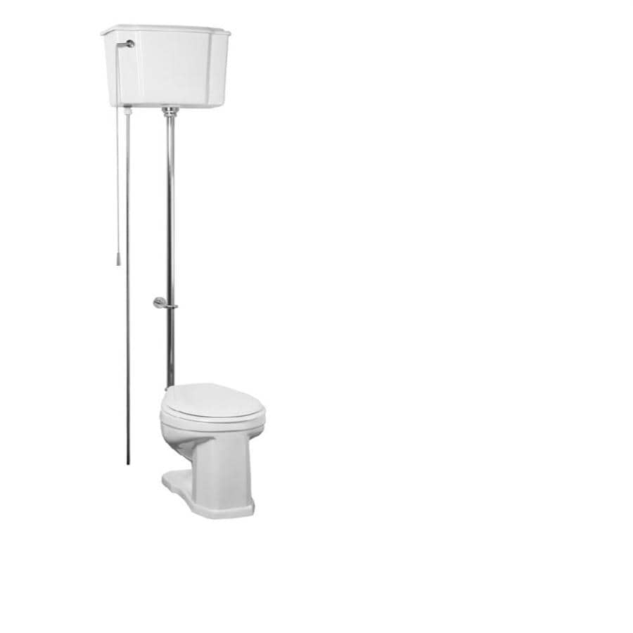 Barclay Victoria 1.6-GPF (6.06-LPF) White Round Height 2-Piece Toilet