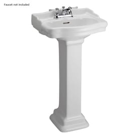 Barclay Pedestal Sinks At Lowes Com