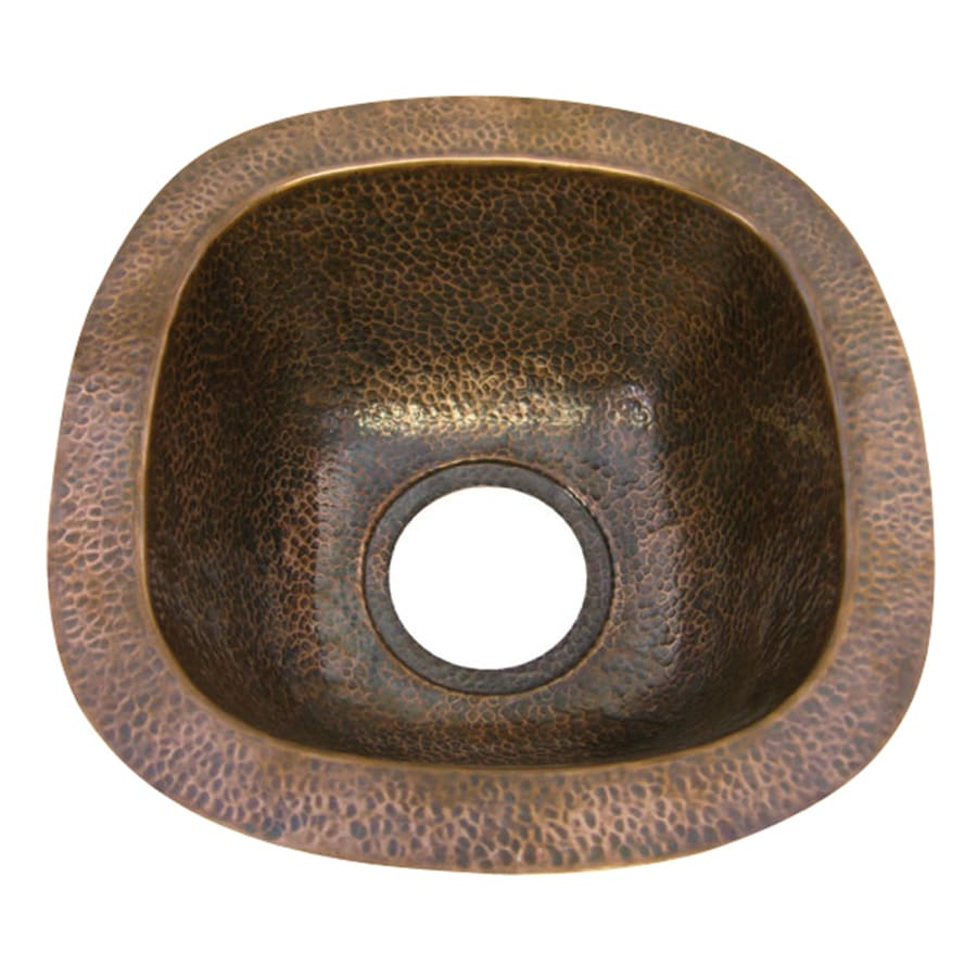 Barclay Hammered Antique Copper Undermount Sink