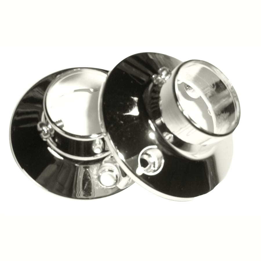 Barclay Polished Nickel Zinc Flanges