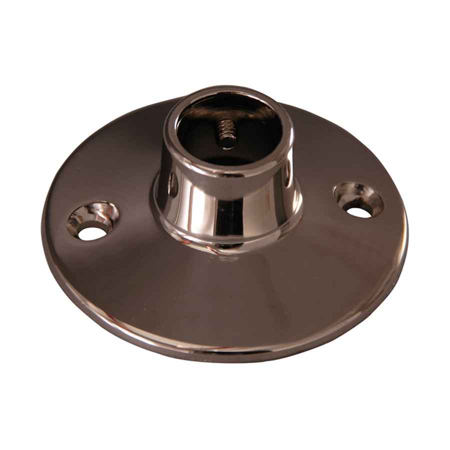 Barclay Polished Nickel Brass Flanges