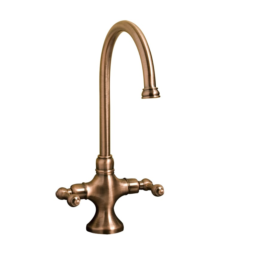 Shop Barclay Braxton Antique Copper 2-Handle Bathroom Sink Faucet at ...