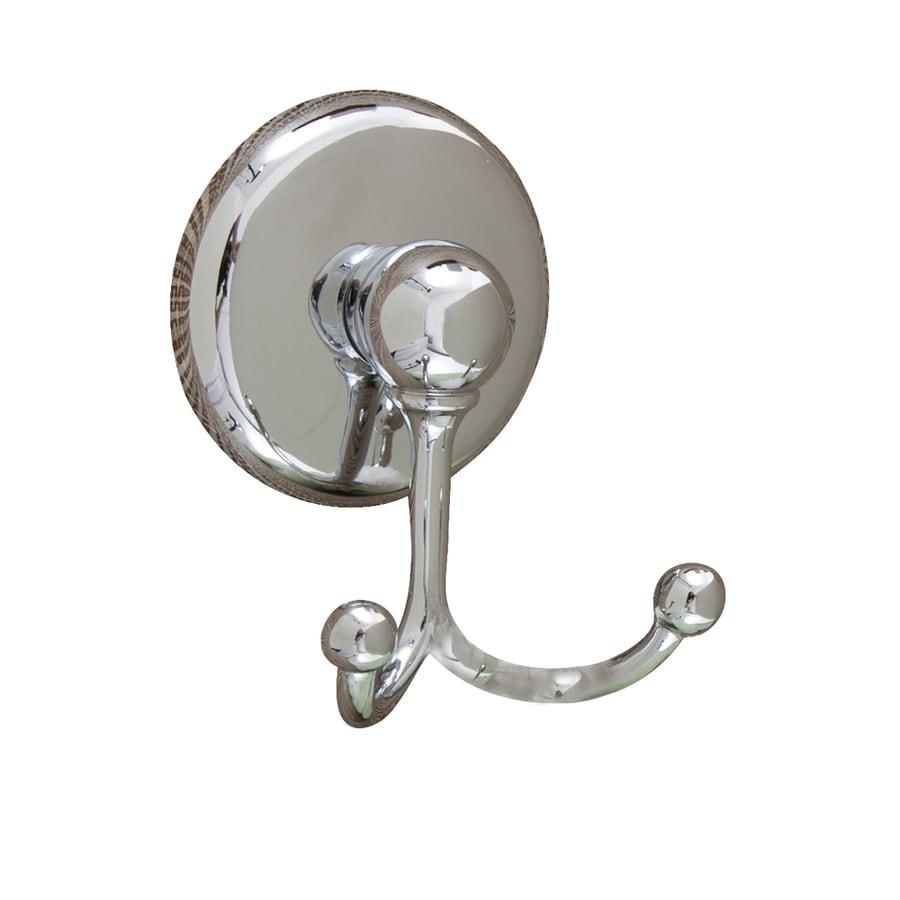 Barclay Cincinnati 2-Hook Chrome Towel Hook