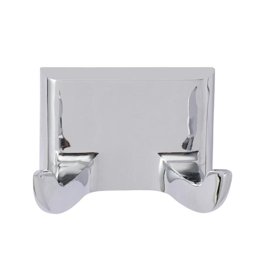 Barclay Hennessey 2-Hook Chrome Towel Hook