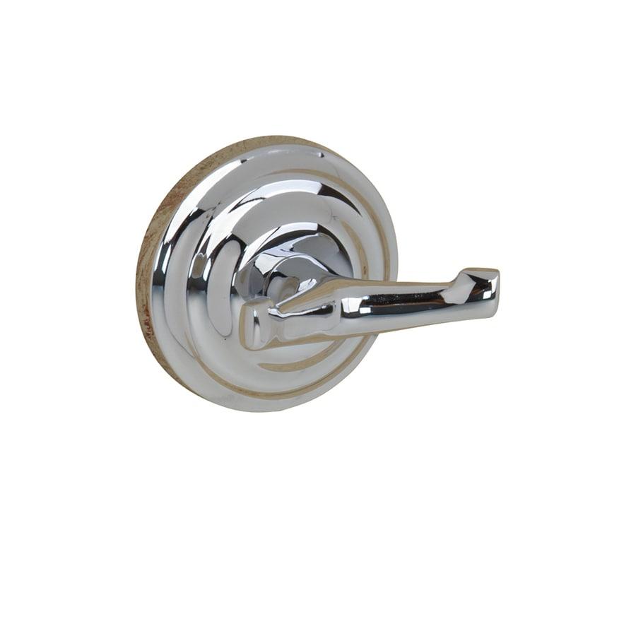 Barclay Macedonia 2-Hook Chrome Robe Hook