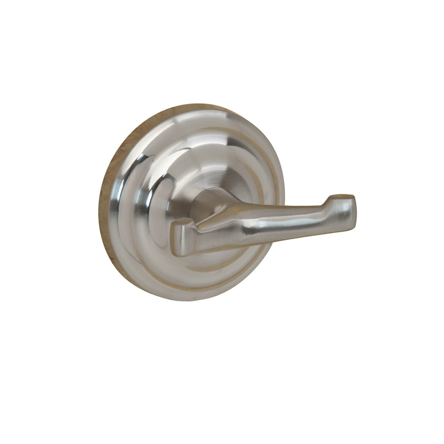 Barclay Macedonia 2-Hook Satin Nickel Towel Hook