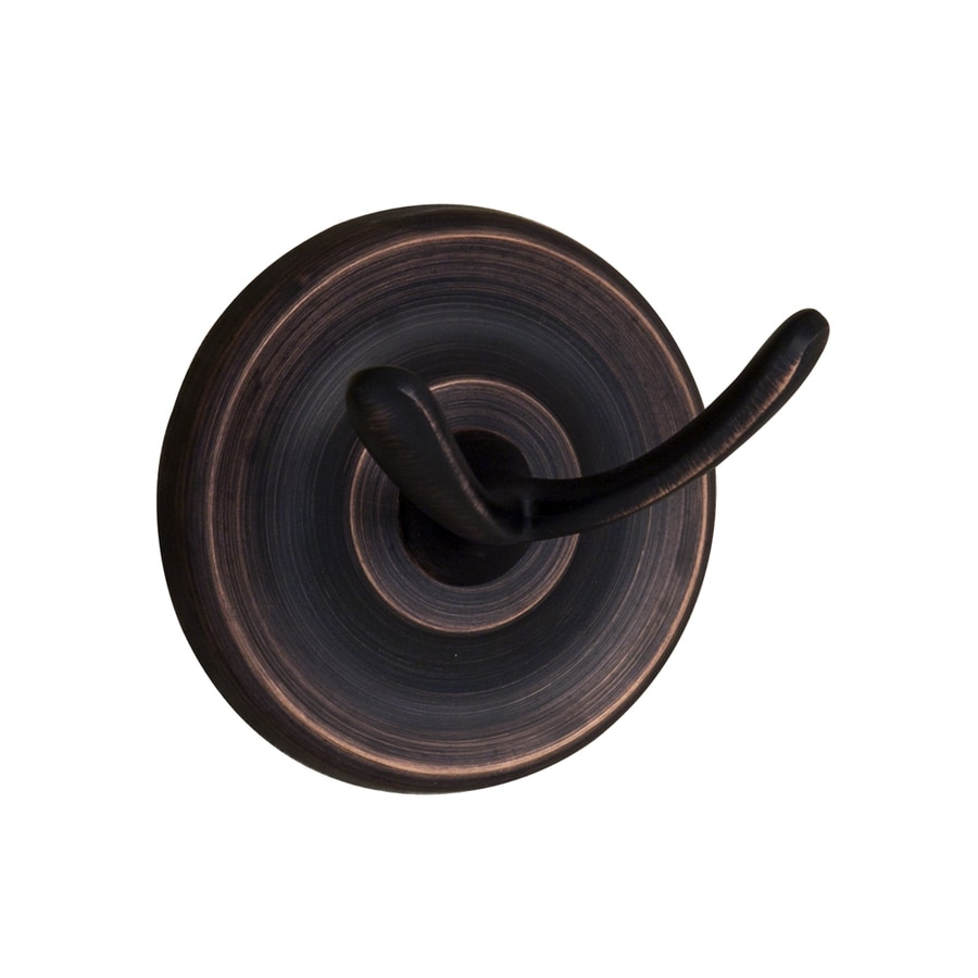 Barclay Alvarado 2-Hook Oil Rubbed Bronze Towel Hook