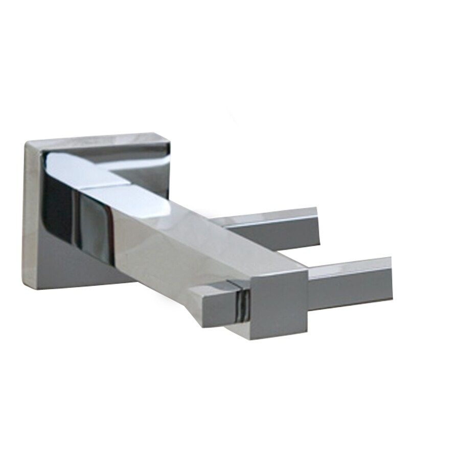 Barclay Jordyn Polished Chrome Double Towel Bar (Common: 24-in; Actual: 24.75-in)