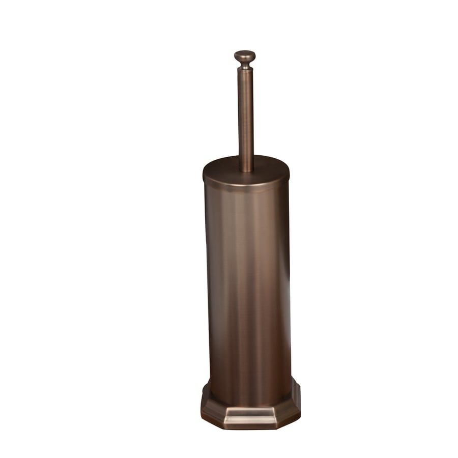 shop barclay donovan oil rubbed bronze stainless steel toilet brush holder at. Black Bedroom Furniture Sets. Home Design Ideas