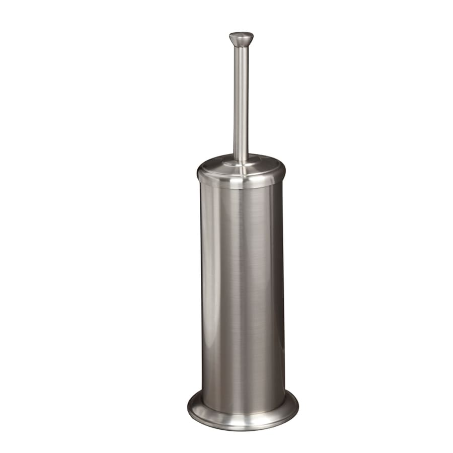 shop barclay darla brushed nickel stainless steel toilet brush holder at. Black Bedroom Furniture Sets. Home Design Ideas