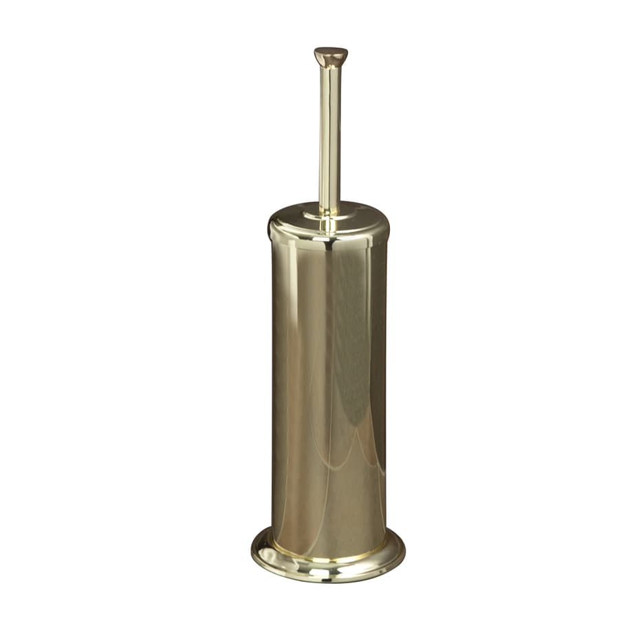 Barclay Darla Polished Brass Stainless Steel Toilet Brush Holder