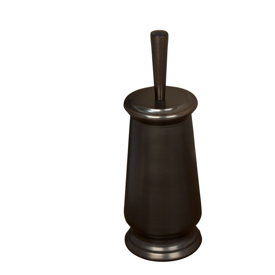 shop barclay adalyn oil rubbed bronze stainless steel toilet brush holder at. Black Bedroom Furniture Sets. Home Design Ideas