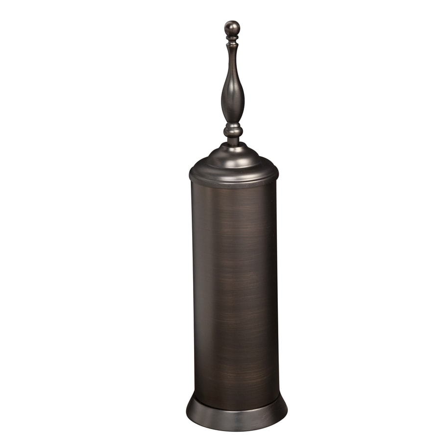 shop barclay everdeen oil rubbed bronze stainless steel toilet brush holder at. Black Bedroom Furniture Sets. Home Design Ideas