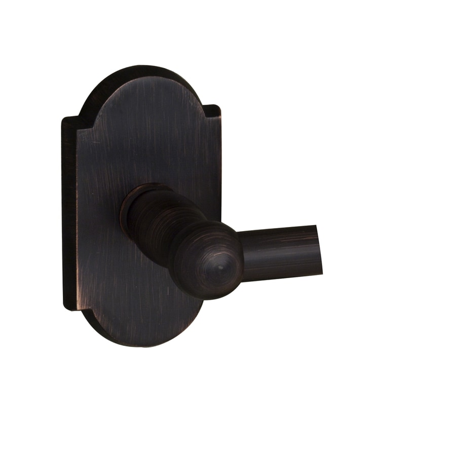 Barclay Abril Oil Rubbed Bronze Single Towel Bar (Common: 26-in; Actual: 26.62-in)