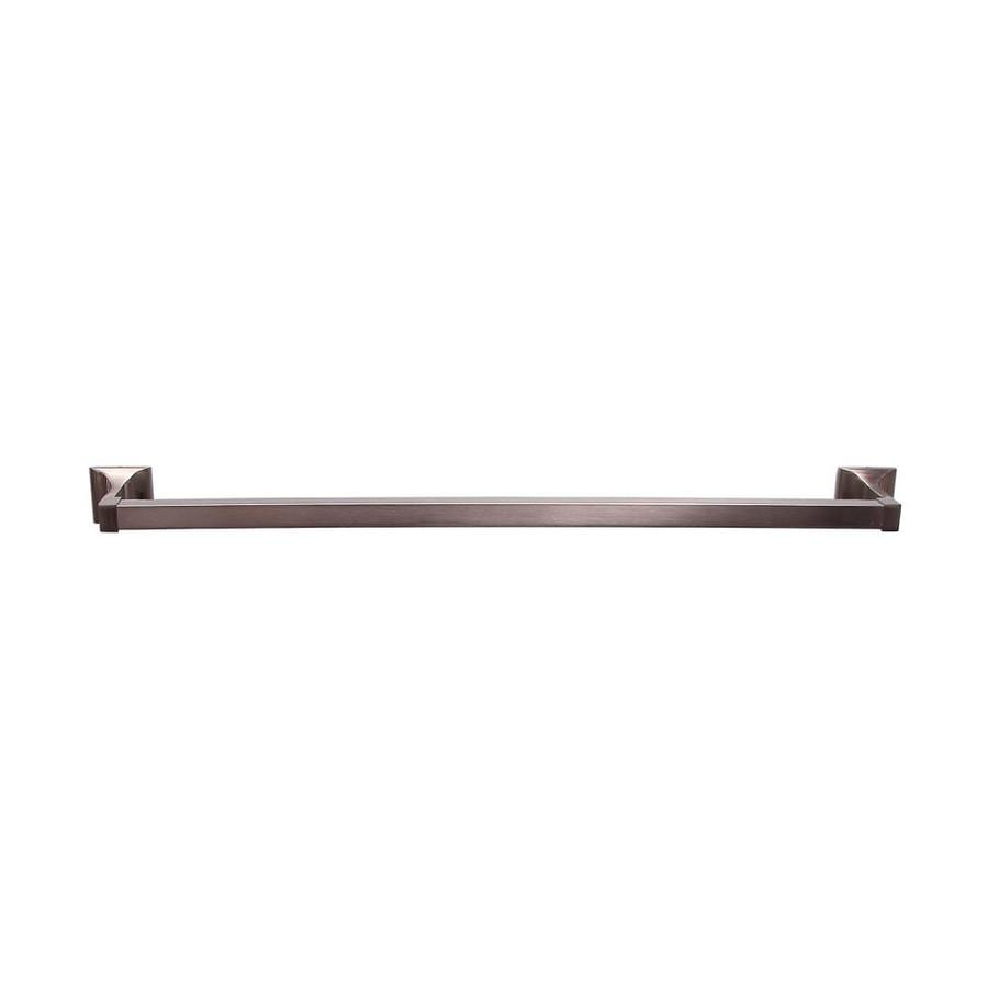 Barclay Hennessey Satin Nickel Single Towel Bar (Common: 31-in; Actual: 32.0-in)