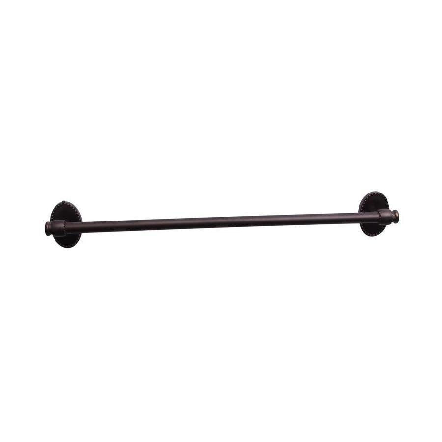Barclay Cordelia Oil Rubbed Bronze Single Towel Bar (Common: 20-in; Actual: 19.62-in)