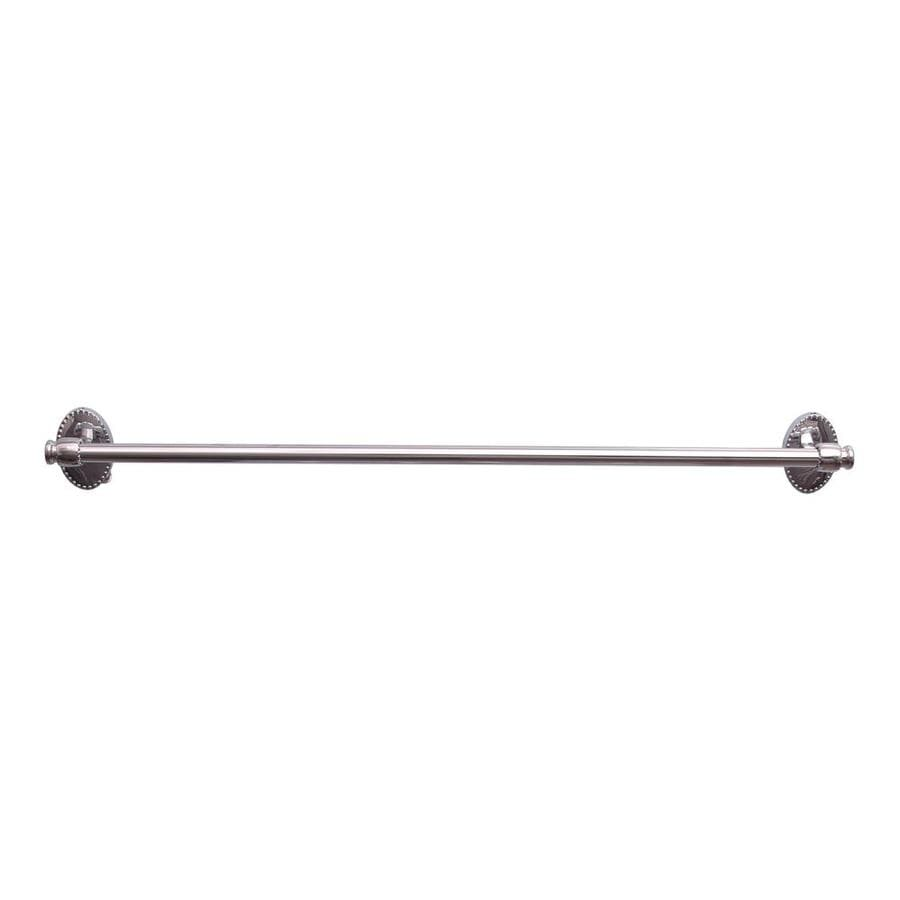 Barclay Cordelia Polished Chrome Single Towel Bar (Common: 26-in; Actual: 25.62-in)