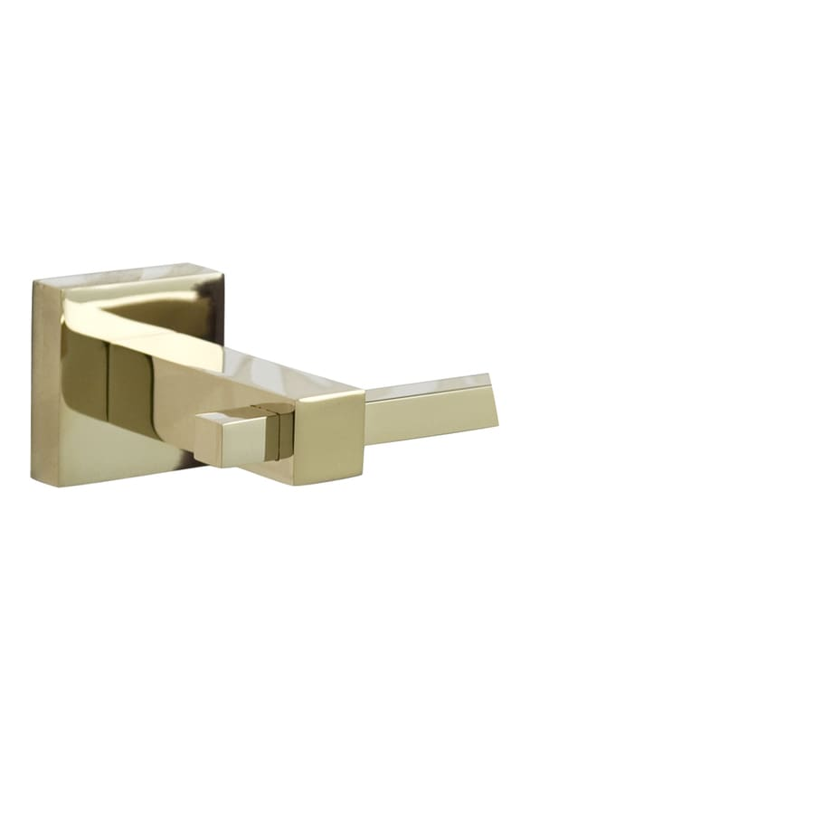Barclay Jordyn Polished Brass Single Towel Bar (Common: 26-in; Actual: 25.5-in)