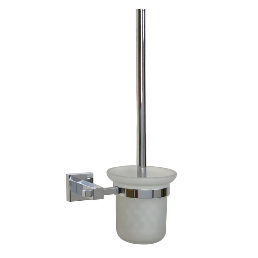 Barclay Jordyn Chrome Brass Toilet Brush Holder