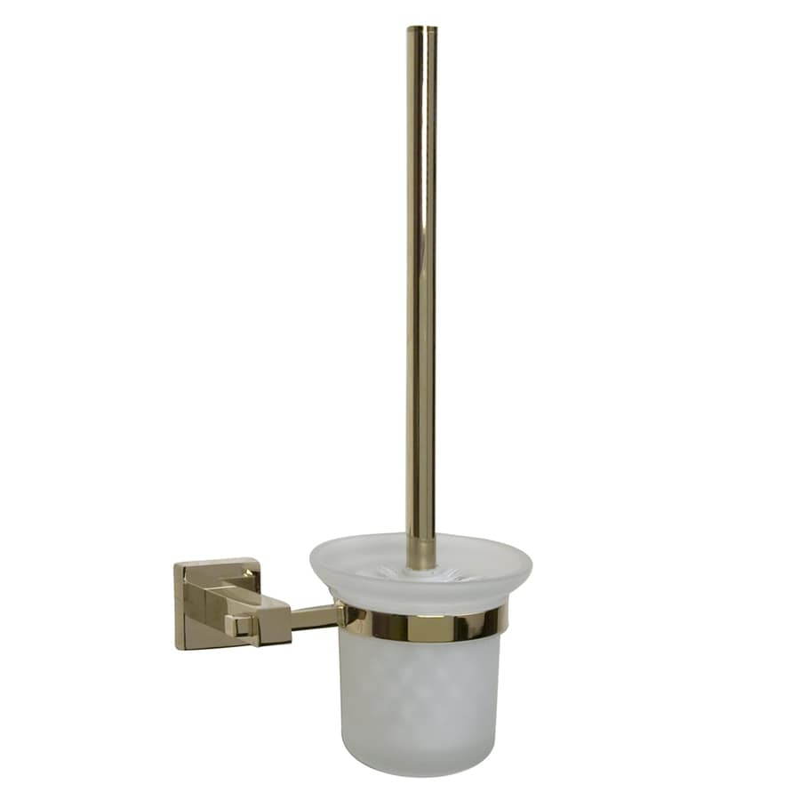 Barclay Jordyn Polished Brass Brass Toilet Brush Holder