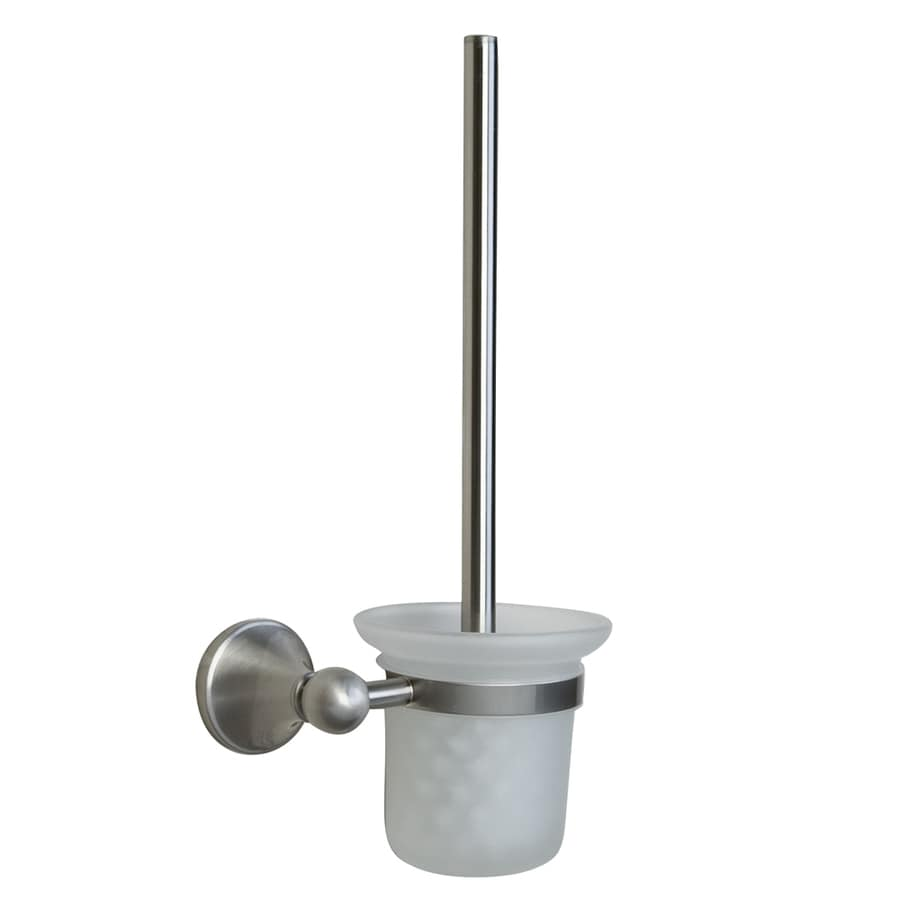 shop barclay kendall brushed nickel brass toilet brush holder at. Black Bedroom Furniture Sets. Home Design Ideas
