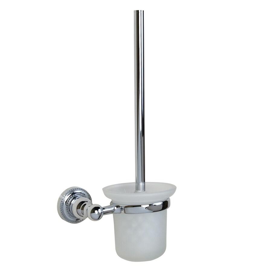 Barclay Nevelyn Chrome Brass Toilet Brush Holder