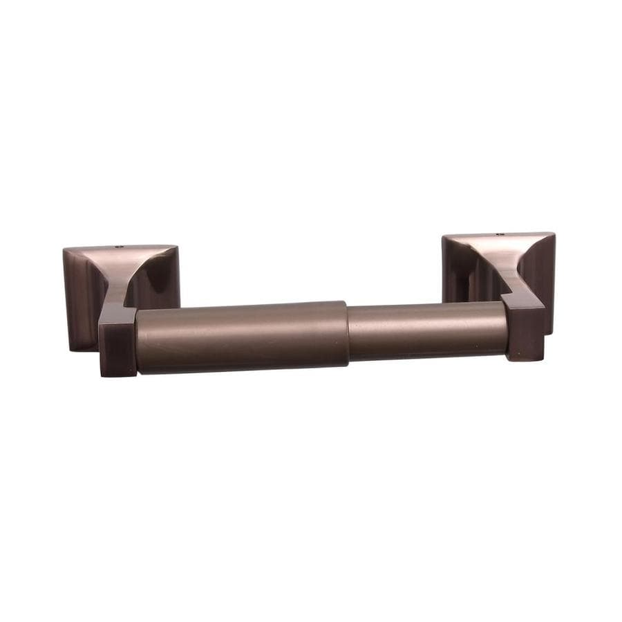 Barclay Hennessey Satin Nickel Surface Mount Toilet Paper Holder