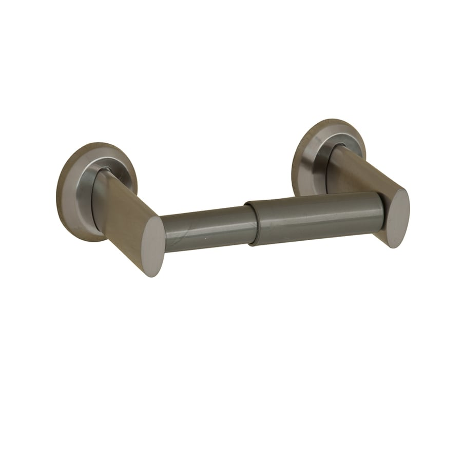 Barclay Katniss Satin Nickel Surface Mount Toilet Paper Holder