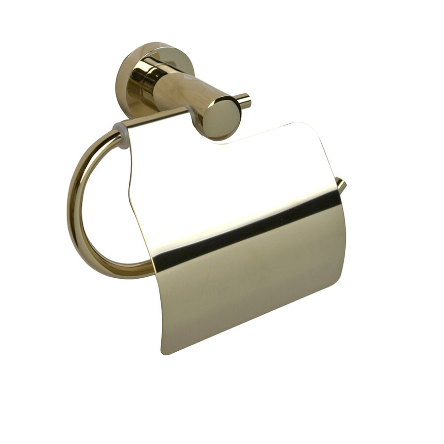 Barclay Berlin Antique Brass Surface Mount Toilet Paper Holder