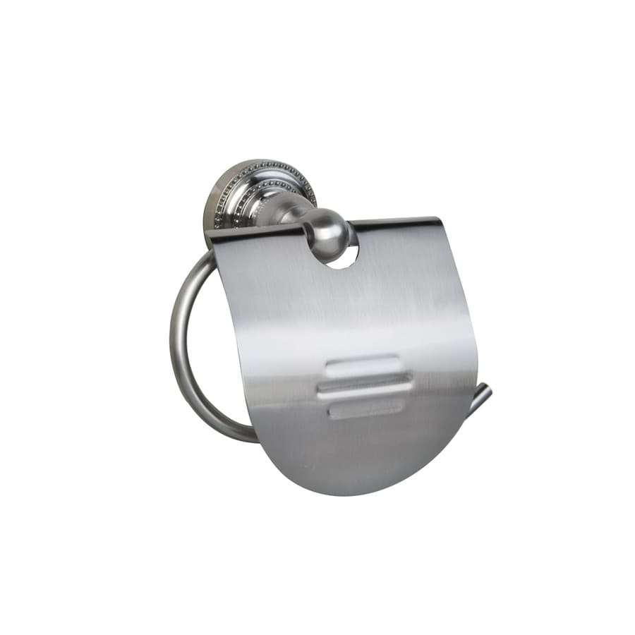Barclay Nevelyn Brushed Nickel Surface Mount Toilet Paper Holder