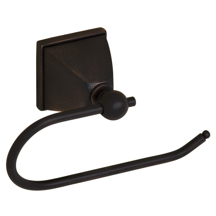 Barclay Delfina Oil Rubbed Bronze Surface Mount Toilet Paper Holder