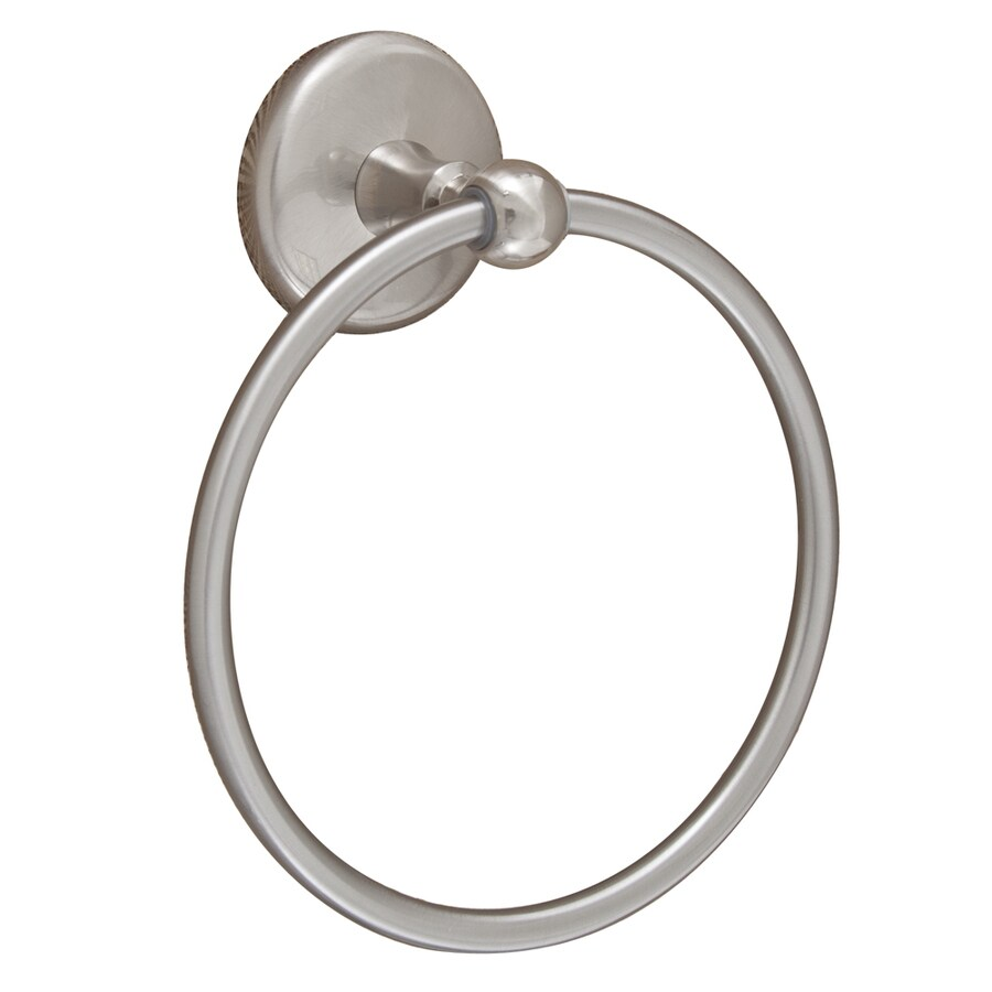 Barclay Cincinnati Satin Nickel Wall Mount Towel Ring