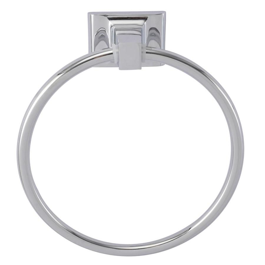 Barclay Hennessey Chrome Wall Mount Towel Ring