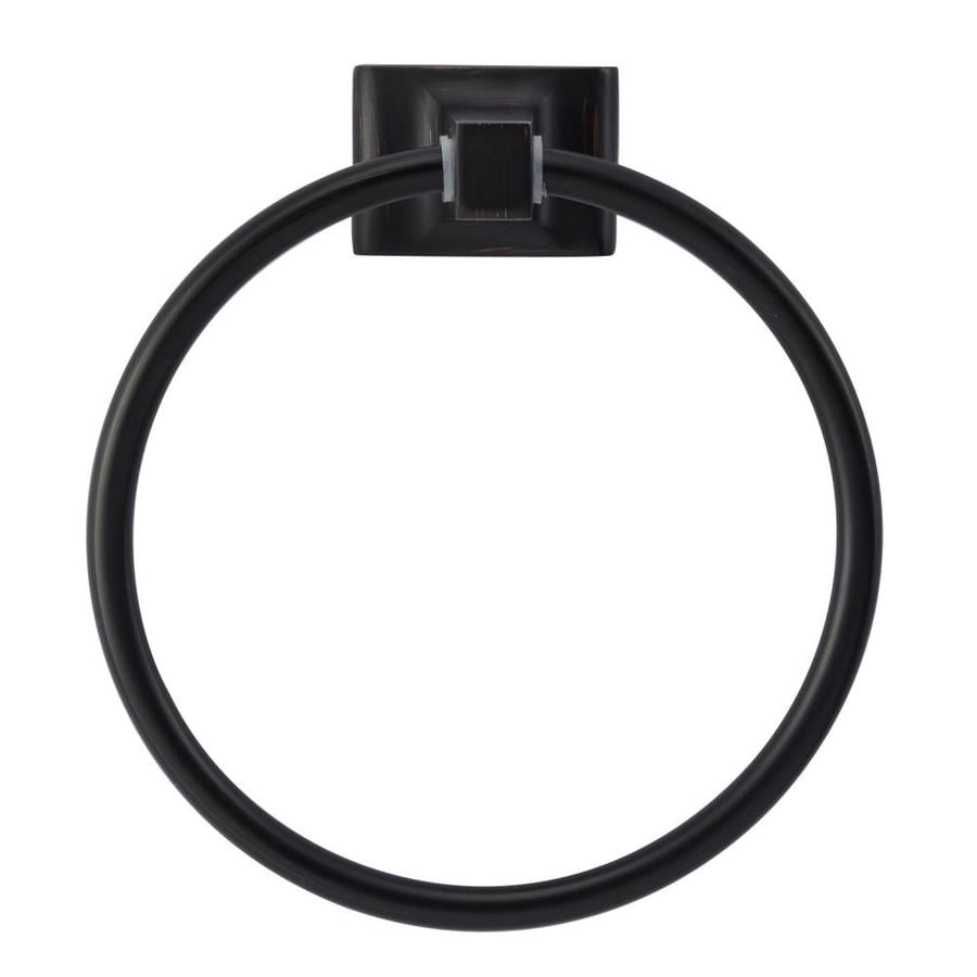 Barclay Hennessey Oil Rubbed Bronze Wall Mount Towel Ring