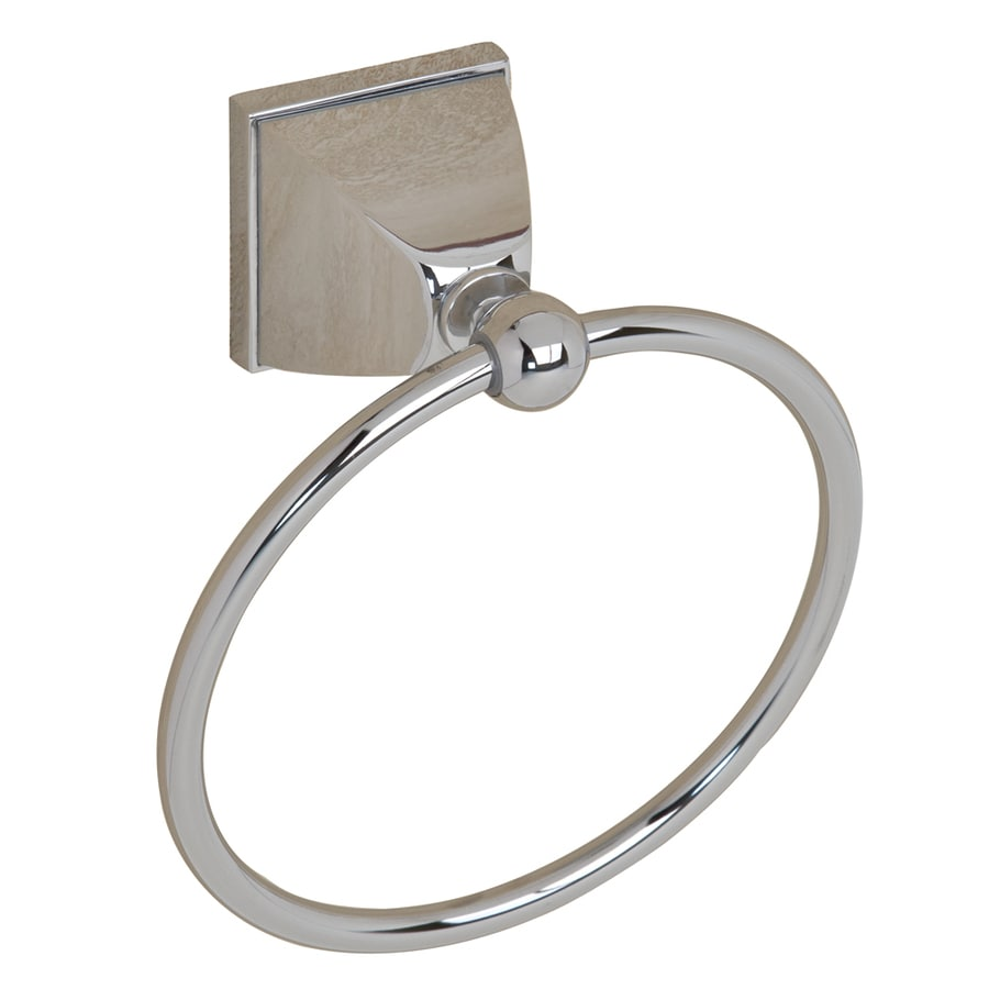 Barclay Delfina Chrome Wall Mount Towel Ring