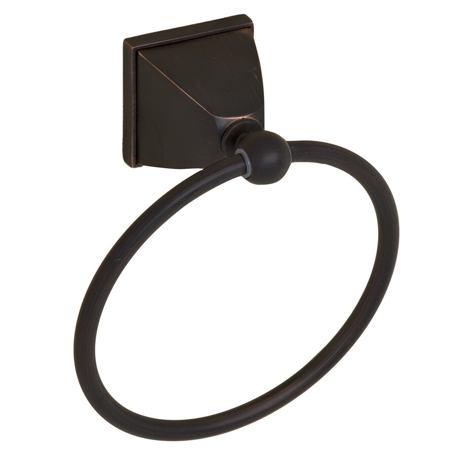 Barclay Delfina Oil-Rubbed Bronze Wall Mount Towel Ring