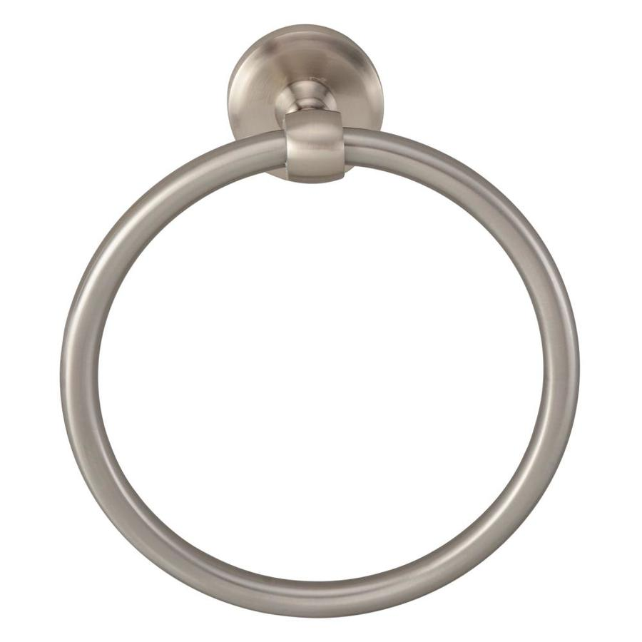 Barclay Norville Satin Nickel Wall Mount Towel Ring