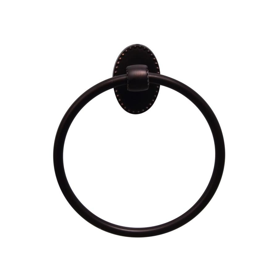 Barclay Cordelia Oil-Rubbed Bronze Wall Mount Towel Ring