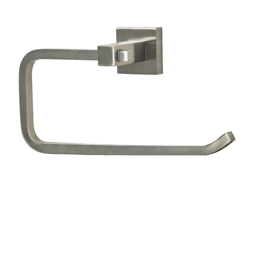 Barclay Jordyn Brushed Nickel Wall Mount Towel Ring