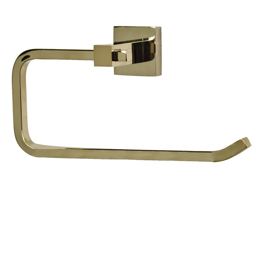 Barclay Jordyn Polished Brass Wall Mount Towel Ring
