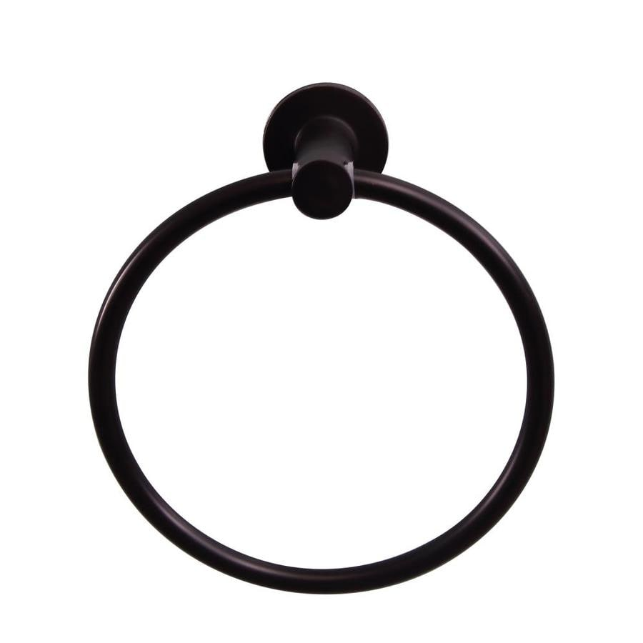Barclay Flanagan Oil-Rubbed Bronze Wall Mount Towel Ring