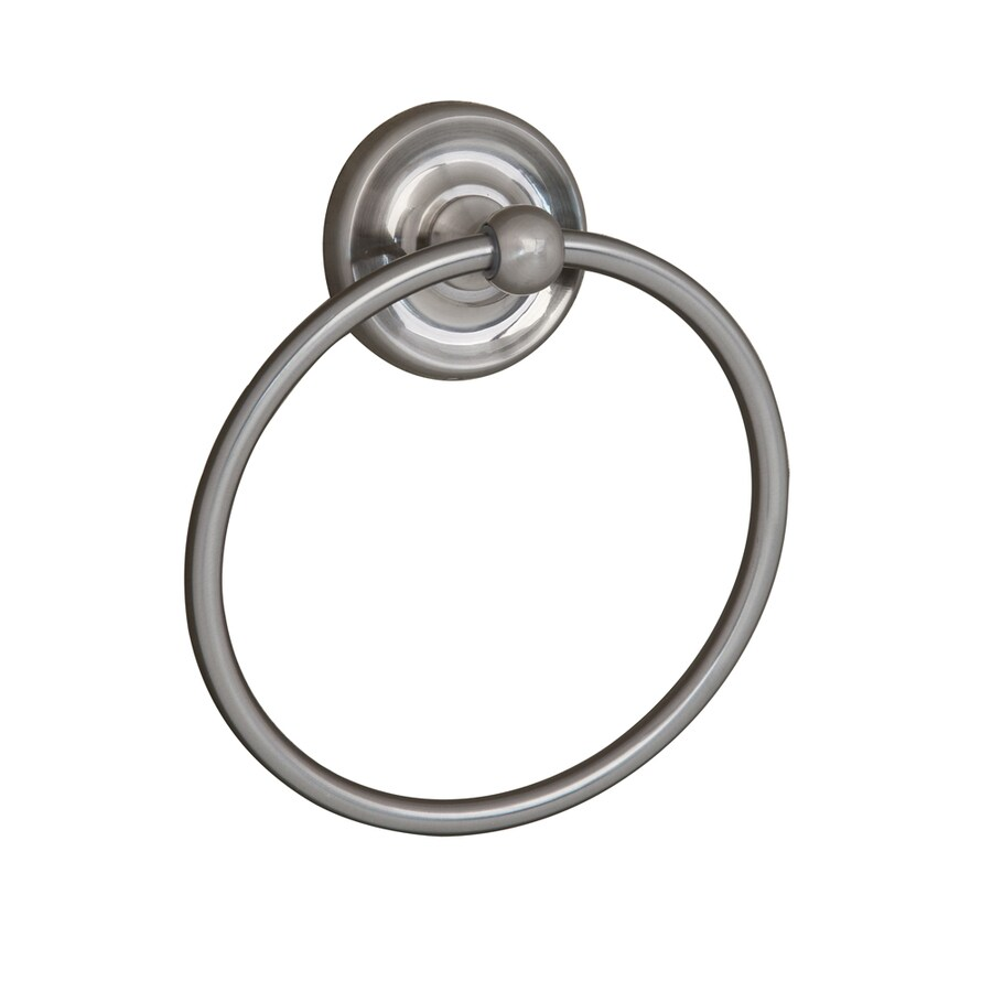 Barclay Alvarado Satin Nickel Wall Mount Towel Ring