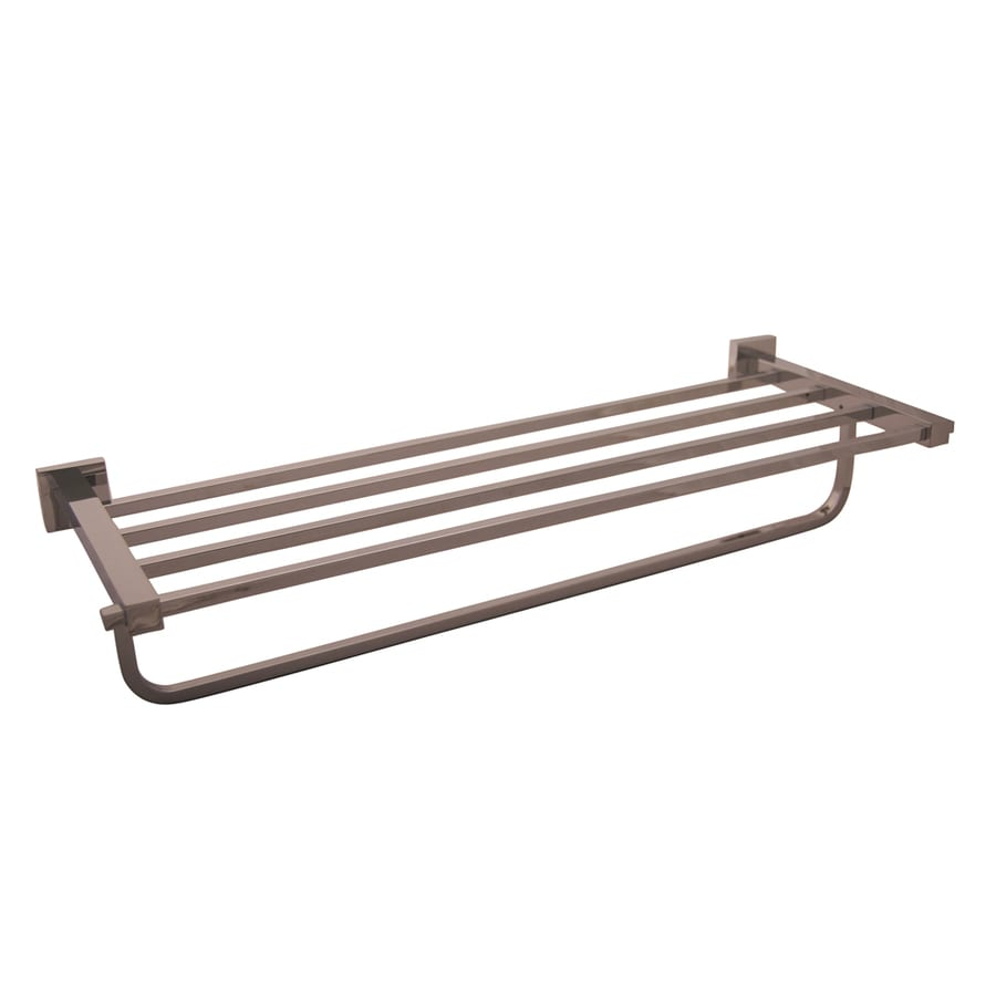 Barclay Jordyn Polished Chrome Rack Towel Bar (Common: 24-in; Actual: 24.5-in)