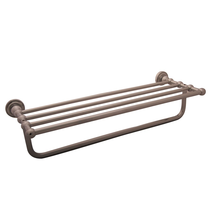 Barclay Nevelyn Polished Chrome Rack Towel Bar (Common: 24-in; Actual: 24-in)