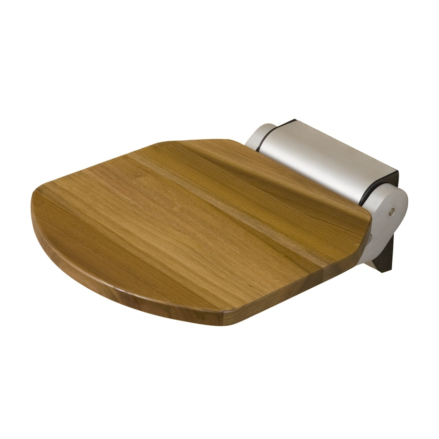 Barclay Golder Teak Teak Wall Mount Shower Seat